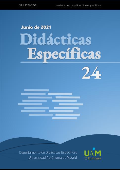 Portada del Número 24 de Didácticas Específicas