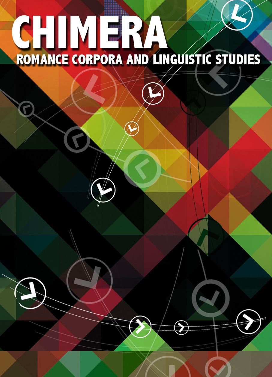 CHIMERA: Revista de lingüística de corpus en lenguas romances