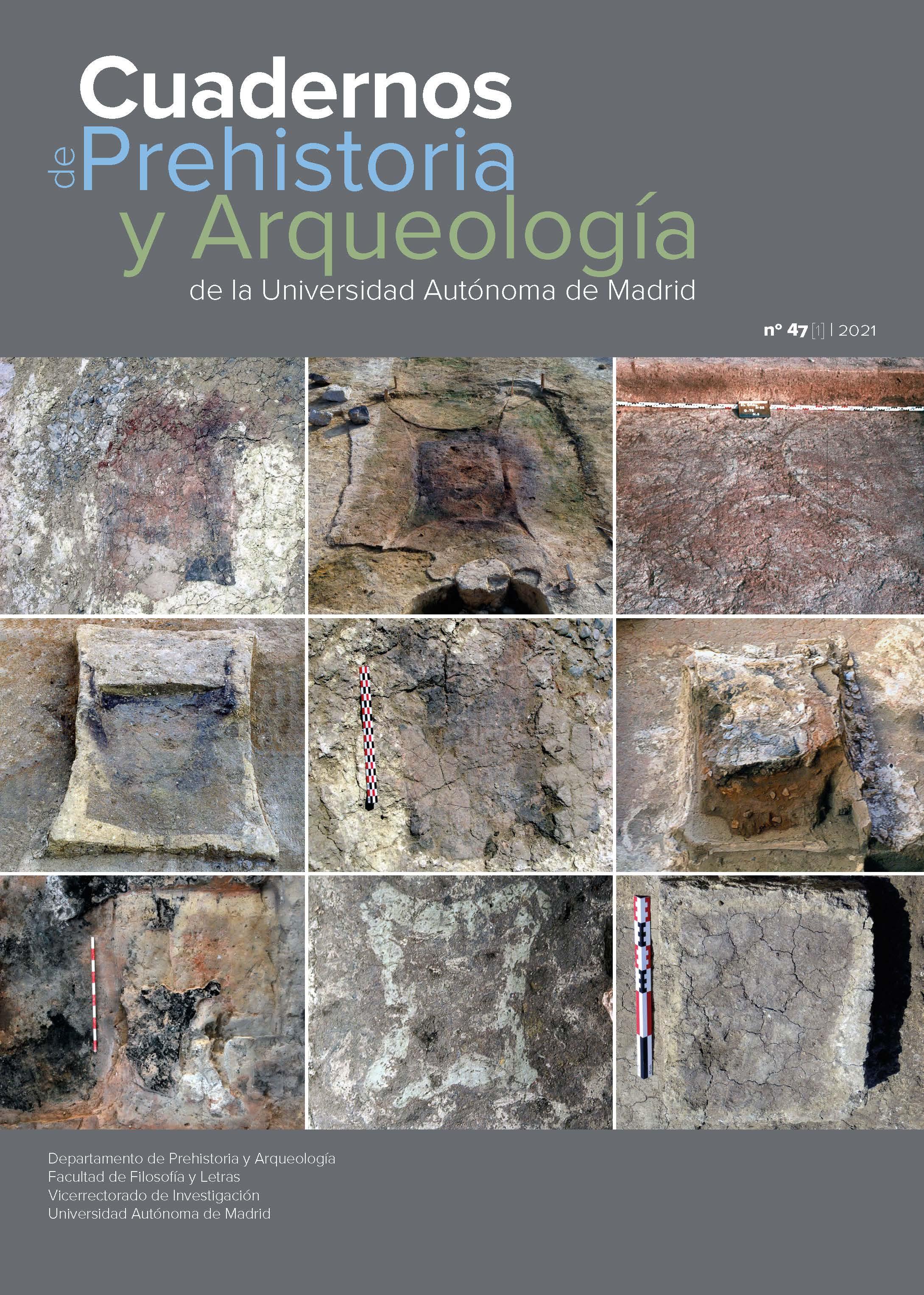 Portada del Volumen 47 número 1 de la revista Cuadernos de Prehistoria y Arqueología de la Universidad Autónoma de Madrid