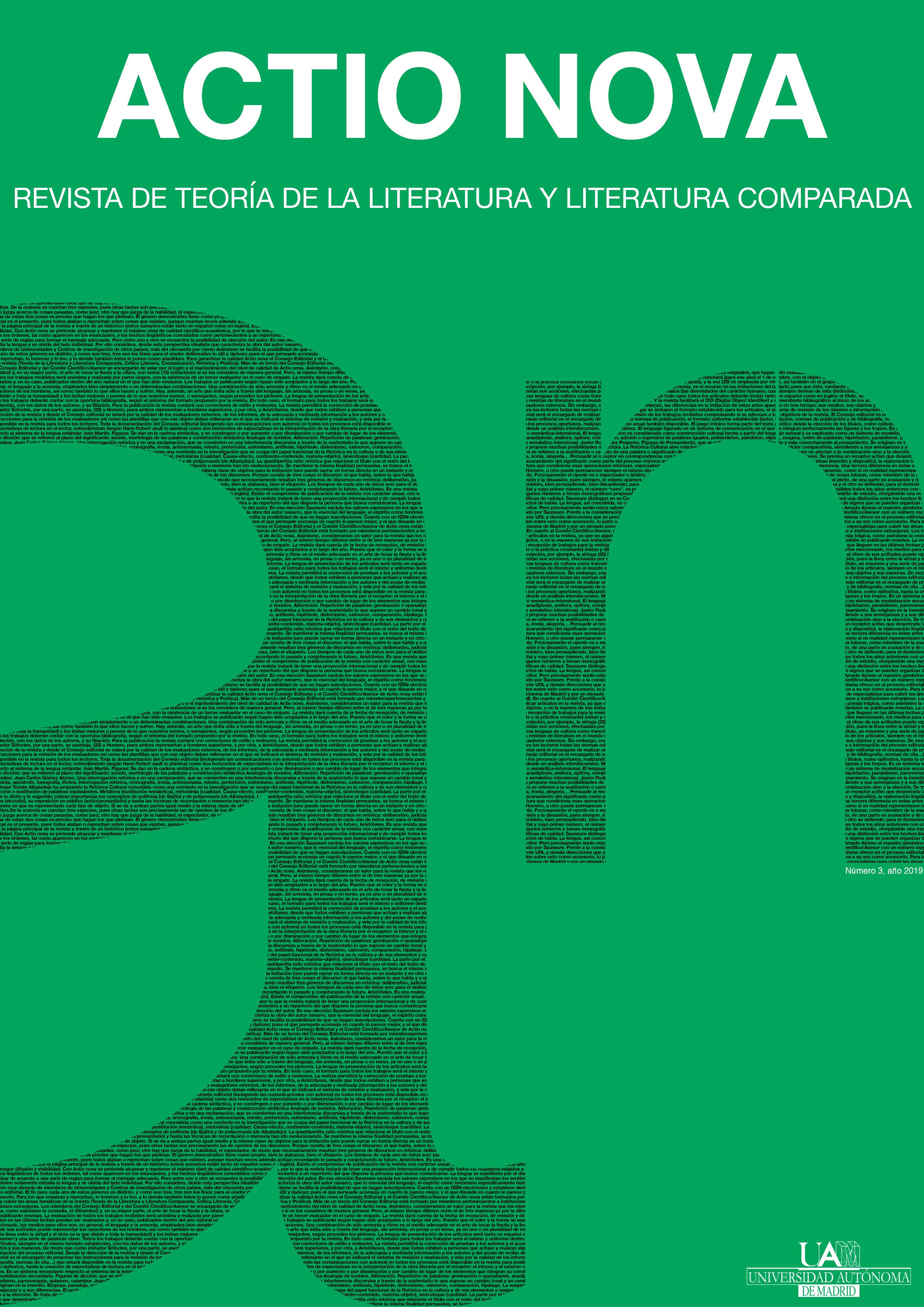 Editora invitada: Claudia Sofía Benito Temprano